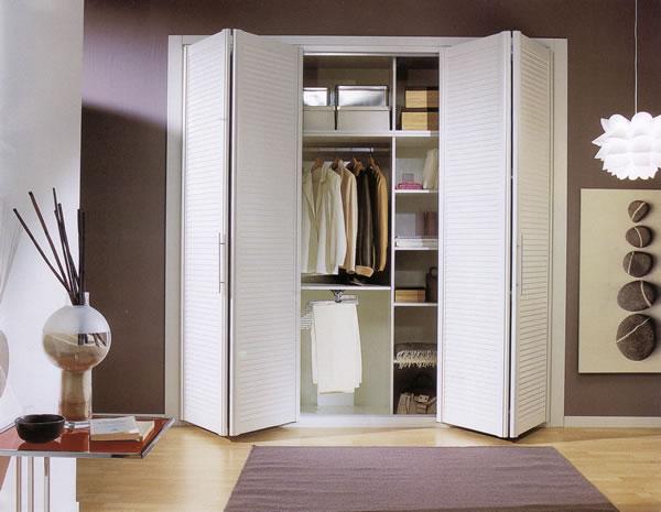 Ventanas de aluminio y pvc madrid carabanchel - Puertas abatibles para armarios empotrados ...